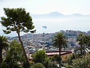 View of Naples from The Gradini del Petraio