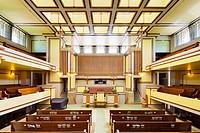 Unity Temple, Oak Park, Illinois, Frank Lloyd Wright