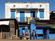 Betafo ´many roofs´ refers to a town and surrounding district in Vakinankaratra Region. Madagascar. Indian Ocean.