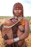 turmi, ethiopia, africa