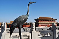 Beijing (China): palace at the Forbidden City