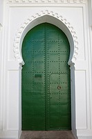 green door in Tangier, Morocco