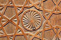Uzbekistan - Bukhara - carved wooden door of the Chashma Ayab Mausoleum