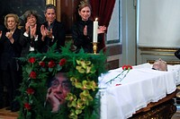 Burial of the Portuguese writer Jose Saramago  Lisbon, Portugal, June 20, 2010