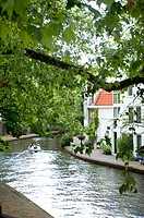 Waterway, boat, river, Utrecht, Netherlands