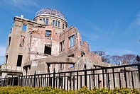Hiroshima (Japan): the ruins of the ´Atomic Bomb Dome´