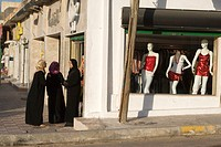 Tripoli, Libya - Street Scene, Women Shopping, Gargaresh District, Shall we go in