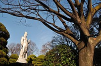 Hiroshima (Japan): Buddha statue by the Hiroshima Museum of Art