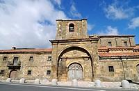 Colegiata de Arbas, church, Kirche, Arbas del Puerto, Villamanin, Castilla Leon, Kastilien Leon, Spain, Spanien, Europe, Europa