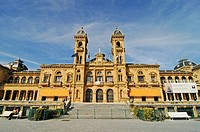 City hall, Rathaus, San Sebastian, Pais Vasco, Basque Country, Baskenland, Spanien, spain