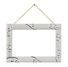 Metal frame with string