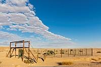 Africa, Namibia, Swakopmund, Namib Desert, View of welwitschia drive