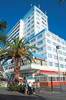 Hotel, Puerto de la Cruz, Tenerife, Canary Islands, Spain
