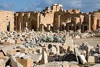 Leptis Magna, Libya - Severan Forum, 3rd  century