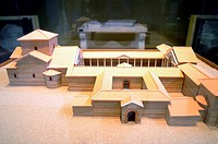 Building A: The Palatium This is a building but built for civil use, soon had to become used as a place of worship and burial, as evidenced by the rem...