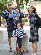 Family, Paris, France