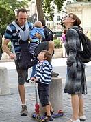 Family, Paris, France