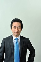 A young office worker´s portrait,Japanese