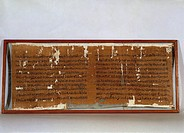 Egyptian civilization, Papyrus Sallier I