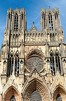 Notre-Dame Cathedral, Reims, Marne, Champagne-Ardenne, France
