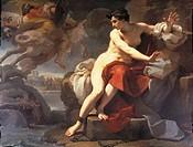 Ubaldo Gandolfi (1728-1781), Perseus and Andromeda.  Bologna, Collezioni Comunali D'Arte (Art Museum, Paintings)