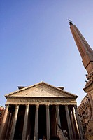 Pantheon and Piazza della Rotunda, Rome, Italy