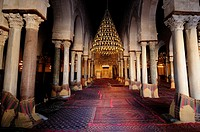 The Prayer Hall of the Great Mosque, Kairouan, Tunisia