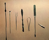 France, Vertillum, Medical instruments for surgery and ophthalmology