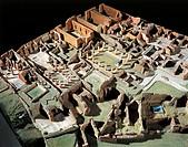POMPEII RUINS OF PLASTIC CAMPANIA REGION VIII  Pompei, Antiquarium (Archaeological Museum)