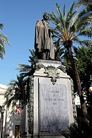 Monument to the Duke of Rivas, Cordoba, Andalusia, Spain