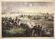 Italy, Napoleonic Wars, Napoleon Bonaparte entering Milan on May 15, 1796