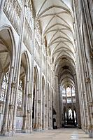 Abbey church of St  Ouen, Rouen, Seine-Maritime department, Upper Normandy, France