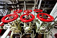 Views of the engine room aboard the Lindblad Expeditions ship National Geographic Explorer  MORE INFO Lindblad Expeditions pioneered non-scientific ex...