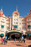 The Disneyland Hotel at Disneyland Paris in France