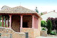 Chapel in Gea de Albarracin,Albarracin mountains,Teruel,Aragon,Spain