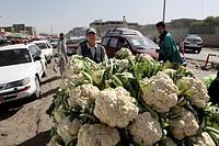 food market in Bamyan, Afghanistan