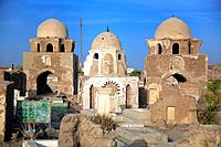 Mausoleum 11th-12th century, Fatimid cemetery, Aswan, Egypt