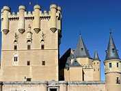 Segovia Spain  Tower of Homage in Alcazar of Segovia