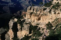 USA, Arizona, Grand Canyon National Park, Bright Angel Trail