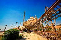 Mohamed Ali Mosque, at the Citadel in Cairo, Egypt