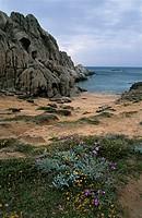 Italy - Sardinia Region - Gallura - Capo Testa, Valle della Luna (Moon Valley).