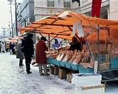 morning Market, Noto, Wajima, Ishikawa, Hokuriku, Japan