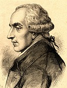 Marquis Pierre Simon de Laplace, French physicist, astronomer, chemist and mathematician Beaumont_en_Auge, 1749 _ Paris 1827. Famous to have stated th...