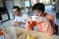 Photo essay at Cognacq_Jay occupational home for mentally disabled adults in Reims, France.