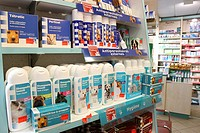 Photo essay for press only. Chemist´s shop. Veterinary products.