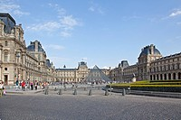 UNESCO, World Heritage, Louvre Museum, Musee du Louvre, 1st Arrondissement, Paris, Ile_de_France, France, Europe