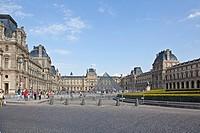 UNESCO, World Heritage, Louvre Museum, Musee du Louvre, 1st Arrondissement, Paris, Ile_de_France, France, Europe