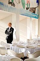 Denmark,Copenhagen, the sommelierat Paustian Bo Bech restaurant