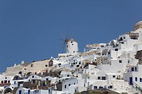 Thira village in Santorini, Cyclades Islands, Cyclades Prefecture, Greece, Europe