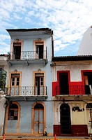 Casco Viejo, the historic district and cultural gem of Panama City, declared a world heritage site by UNESCO in 1997, Panama City, Republic of Panama,...
